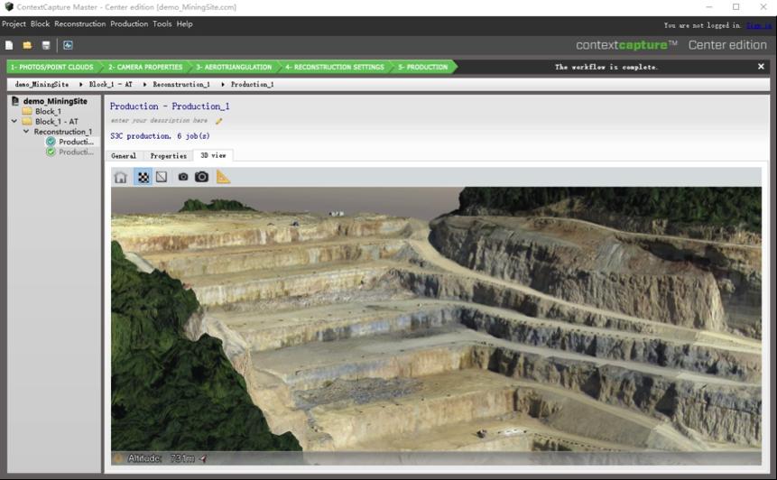 ContextCapture(Smart3D)三维建模软件